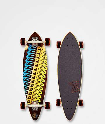 "Z-Flex Roll One Mini Pin 32"" Longboard Complete"
