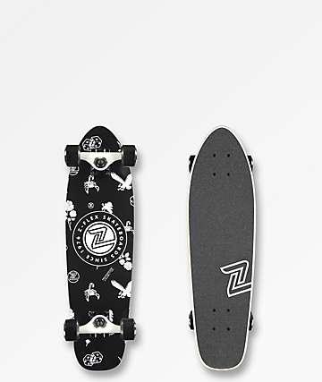 "Z-Flex Rolling Bones 27"" cruiser completo de skate"