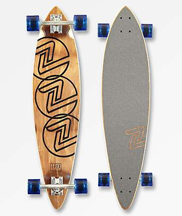 "Z-Flex Trinity 38"" Pintail Longboard Complete"