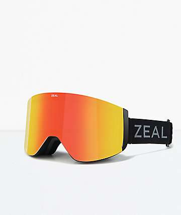 Zeal Hatchet Dark Night Snowboard Goggles
