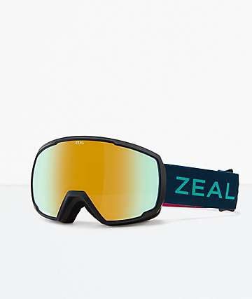 Zeal Nomad Fruit Punch Snowboard Goggles