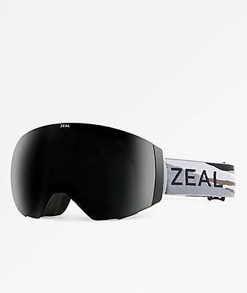 Zeal Portal Horizon Grey & Sky Blue Snowboard Goggles