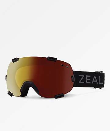 Zeal Voyager Dark Night Automatic Color Changing Snowboard Goggles