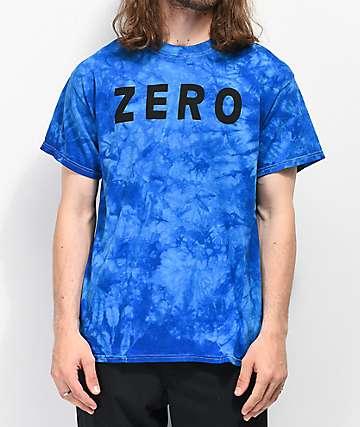 Zero Army Royal Blue Washed T-Shirt