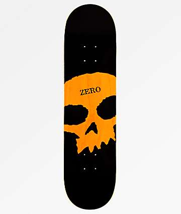 "Zero Big Skull Knockout 8.0"" Skateboard Deck"