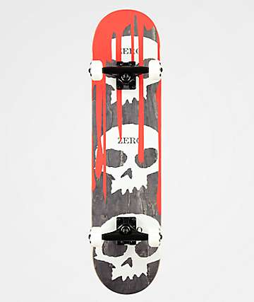 "Zero Bloody Nose 7.62"" Skateboard Complete"
