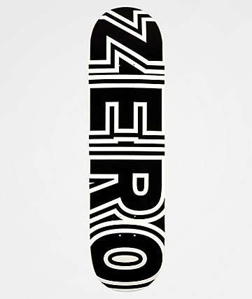 "Zero Bold 8.5"" Skateboard Deck"