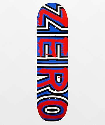 "Zero Burman Bold 8.38"" Skateboard Deck"