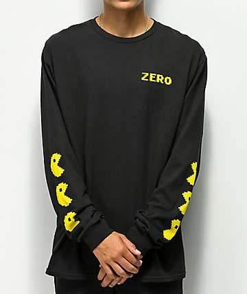 Zero Chomp Black Long Sleeve T-Shirt