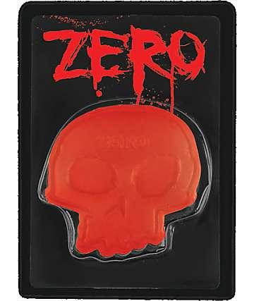 Zero Red Skull Skateboard Wax