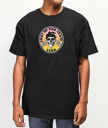 Zero Shut Up camiseta negra