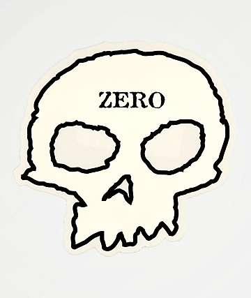 Zero Skull Sticker