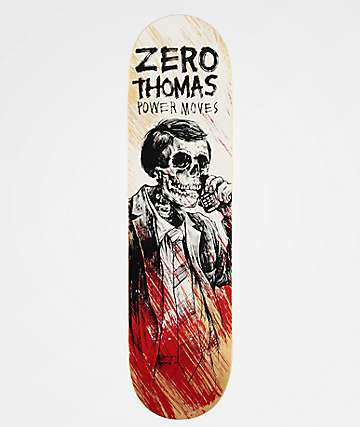 "Zero Thomas Power Moves 8.0"" Skateboard Deck"