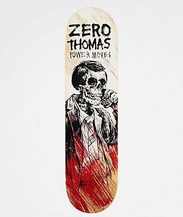 """Zero Thomas Power Moves 8.0"""" Skateboard Deck"""