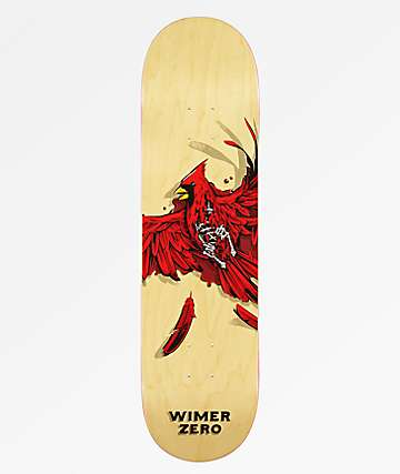 "Zero Wimer Dead Cardinal 8.25"" tabla de skate"