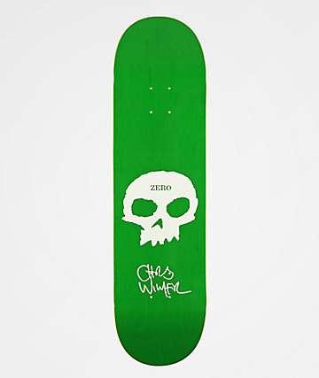 "Zero Wimer Single Skull 8.375"" Skateboard Deck"