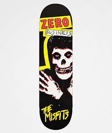 """Zero x Misfits Business 8.25"""" Skateboard Deck"""