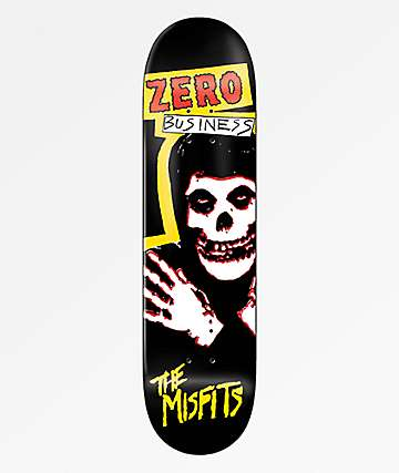 "Zero x Misfits Business 8.5"" Skateboard Deck"