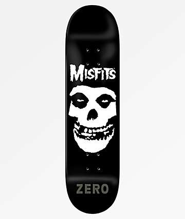 "Zero x Misfits Fiend Skull 8.5"" Skateboard Deck"