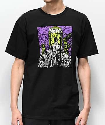 Zero x The Misfits Zero A.D. Black T-Shirt