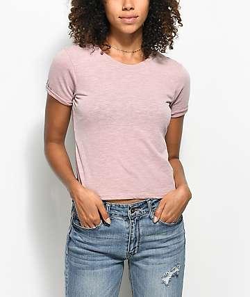Zine Abena Mauve T-Shirt