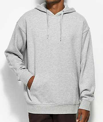 Zine Alt Heather Grey Hoodie