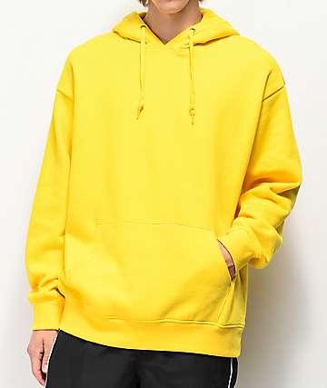 Zine Alt sudadera con capucha dorada