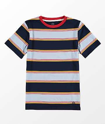 Zine Bonus Blue Stripe camiseta a rayas para niños