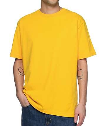 Zine Boxed camiseta color amarillo