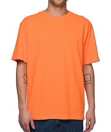 Zine Boxed camiseta color naranja