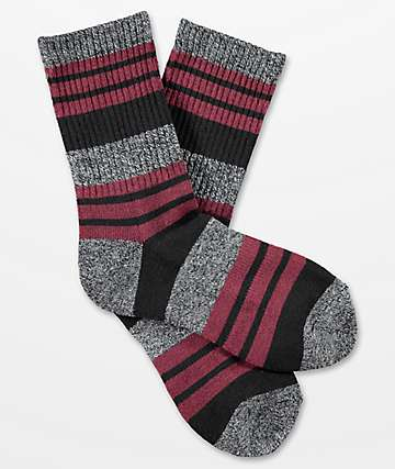 Zine Boys Street Chocolate Truffle Crew Socks