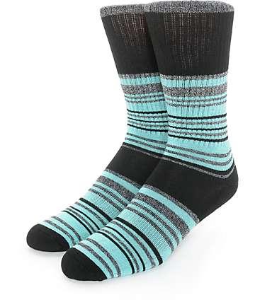 Zine Check Crew Socks