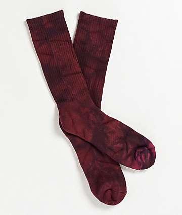 Zine Chocolate Truffle Tie Dye Crew Socks