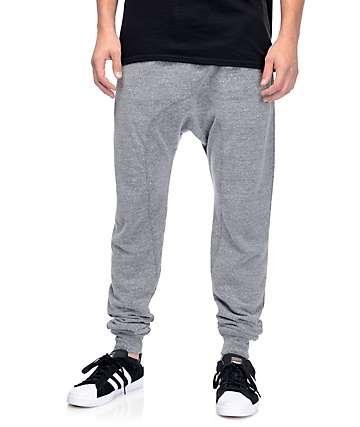 Zine Cover pantalón Jogger en tejido gris