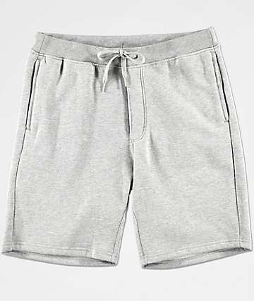 Zine Damon Athletic Grey Fleece Lined Athletic Shorts