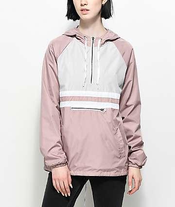 Zine Domino chaqueta cortavientos de color malva