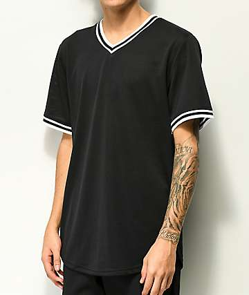 Zine Dugout Black Batting Jersey