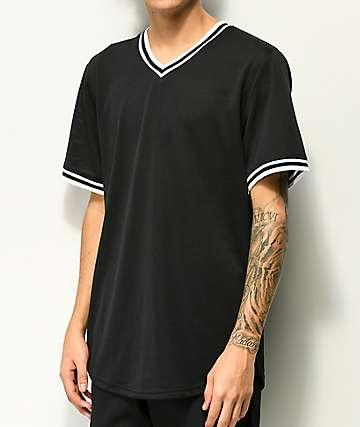 Zine Dugout jersey negra