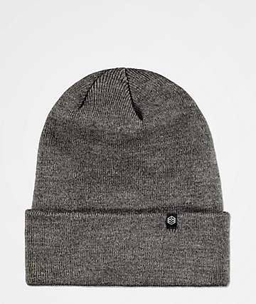 Zine Essential Grey Gas Station Fold Beanie