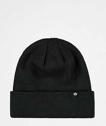 Zine Essential gorro doblado en negro