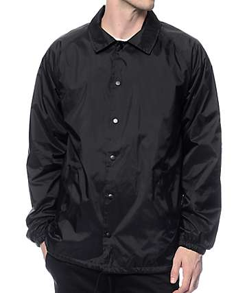 Zine Ghostwriter Black Coach Jacket