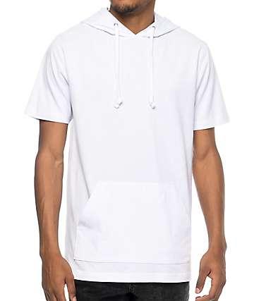 Zine Heading Home White Hooded T-Shirt