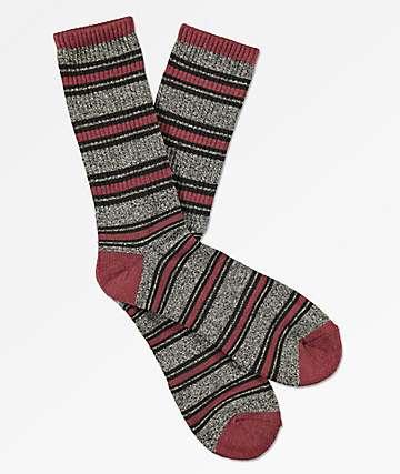 Zine Hold Chocolate Truffle Crew Socks