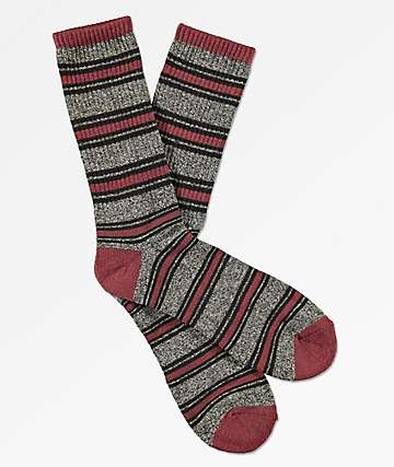 Zine Hold Chocolate Truffle Crew Socks