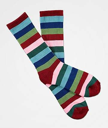 Zine Icaon Prism calcetines rosas y verdes