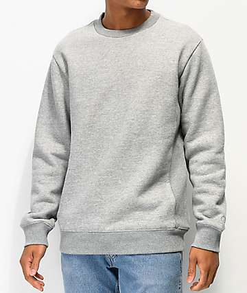 Zine Keeper Grey Crew Neck Sweatshirt