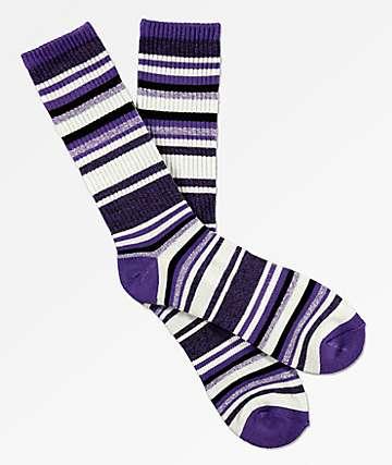 Zine Legion Violet Crew Socks