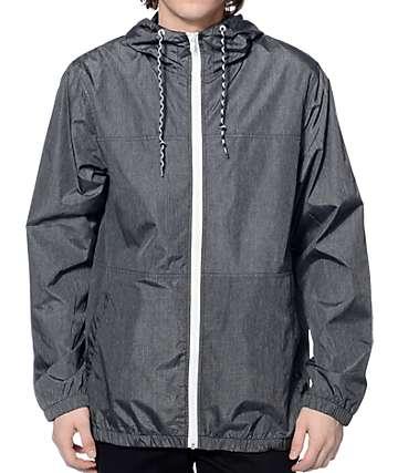 Zine Marathon chaqueta cortaviento de color carbón