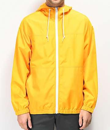 Zine Marathon chaqueta cortavientos dorada