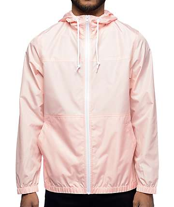 Zine Marathon cortavientos en rosa